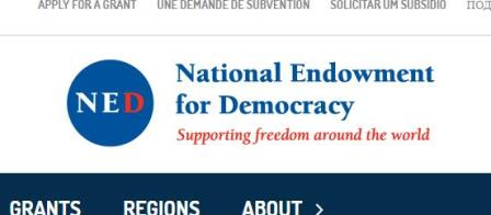 Logo The National Endowment for Democracy